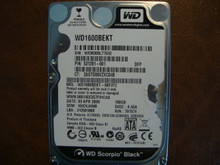 WD WD1600BEKT-66F3T2 DCM:HHCVJHNB 160gb Sata (Donor for Parts)