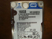 WD WD1600BEVS-26VAT0 DCM:HHNT2ANB 160gb Sata (Donor for Parts)