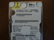 WD WD1600BEVS-26VAT0 DCM:HACV2ANB 160gb Sata (Donor for Parts)