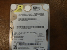 WD WD1600BEVS-26VAT0 DCM:HHCVJBNB 160gb Sata (Donor for Parts)