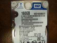 WD WD1600BEVT-22ZCT0 DCM:HHNT2BB 160gb Sata (Donor for Parts)