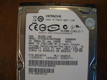 Hitachi HTS542516K9SA00 PN:0A54874 MLC:DA2010 160gb Sata  (Donor for Parts) WGKHEEJC