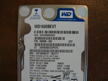 WD WD1600BEVT-60ZCT1 DCM:FANT2ANB 160gb Sata (Donor for Parts)
