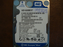 WD WD1600BEVT-60ZCT1 DCM:DHNT2ABB 160gb Sata (Donor for Parts)