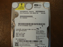 WD WD2500BEVS-26UST0 DCM:HHCT2HBB 250gb Sata (Donor for Parts)