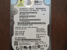 WD WD2500BEVS-60UST0 DCM:HACVJANB 250gb Sata (Donor for Parts)