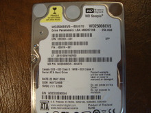 WD WD2500BEVS-60UST0 DCM:HAYTJHBB 250gb Sata (Donor for Parts)