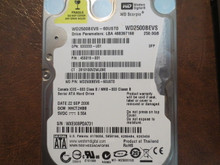WD WD2500BEVS-60UST0 DCM:HHCT2HBB 250gb Sata (Donor for Parts)