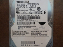 Toshiba MK6461GSYN HDD2F21 F VL01 B 010 A0/MH000C 640gb Sata (Donor for Parts)