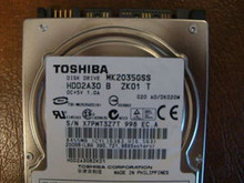 Toshiba MK2035GSS HDD2A30 B ZK01 T 020 A0/DK020M 200gb Sata (Donor for Parts)