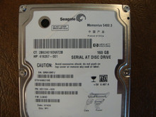 Seagate ST9160821AS 9S1134-020 FW:3.BHD WU 160gb Sata (Donor for Parts) 5MA1XKFJ