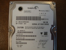 Seagate ST9160821AS 9S1134-020 FW:3.BHD WU 160gb Sata (Donor for Parts) 5MA4RLYP