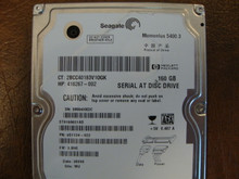Seagate ST9160821AS 9S1134-022 FW:3.BHE WU 160gb Sata (Donor for Parts) 5MA4HXDC