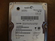 Seagate ST9160821AS 9S1134-142 FW:3.ALC WU 160gb Sata (Donor for Parts) 5MA9WG6N