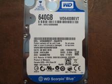 Western Digital WD6400BEVT-55A0RT0 DCM:HVCVJBN 640gb Sata