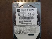 Toshiba MK3017GAP HDD2159 Y ZF01 T 102 A0/A0.02H 30gb IDE/ATA 323A5877T (T)