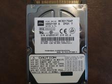 Toshiba MK3017GAP HDD2159 G ZF01 T 102 C0/A0.06H 30gb IDE/ATA