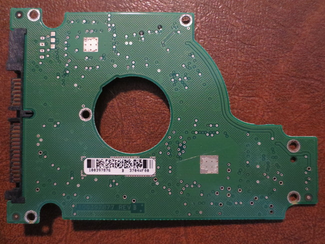 "Seagate ST9120821AS 120gb 9W3184-022 FW:7.24 WU 100397876 C 2.5/"" Sata PCB"