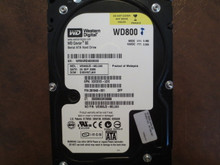Western Digital WD800JD-60LUA0 DCM:DSBHNTJAH 80gb Sata
