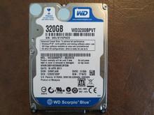 Western Digital WD3200BPVT-80ZEST0 DCM:EHMTJAB 320gb Sata