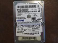 Samsung HM040GI REV.A FW:AA100-12 (M80S FS) 40gb Sata S0JUJ10LC35149 (T)