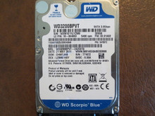 Western Digital WD3200BPVT-24ZEST0 DCM:DHMTJHB 320gb Sata