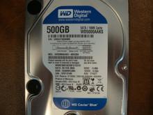 WESTERN DIGITAL WD5000AAKS-00H2B0 DCM:HANNHVJMA SATA 500GB