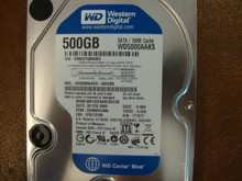 WESTERN DIGITAL WD5000AAKS-00H2B0 DCM:DHNNHVJMA SATA 500GB