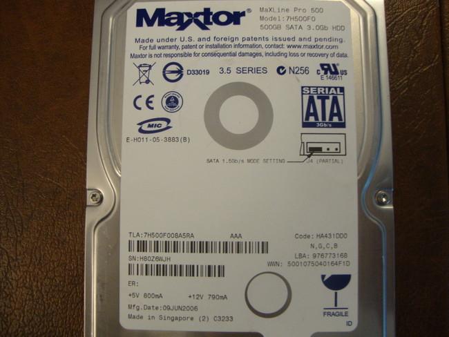 DRIVERS: MAXTOR 7H500F0