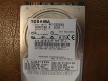 "Toshiba MK1032GSX HDD2D30 S ZK01 T 010 D0/AS021G Sata 2.5"" 100gb"