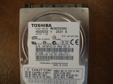 TOSHIBA MK8032GSX HDD2D32 V ZK01 S 010 A0/AS112M SATA 80GB