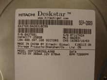 HITACHI HDP725025GLA380 MLC:BA2831 P/N:0A37681 250GB SATA RT1V7HZA