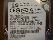 HITACHI HTS542516K9SA00 PN:0A54874 MLC:DA2010 160GB SATA ACJWAT7F
