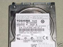 TOSHIBA MK1234GSX, HDD2D31 M ZK02 S, 120GB, SATA 360228583600