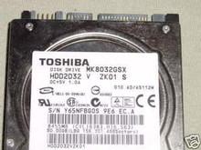 TOSHIBA MK8032GSX, HDD2D32 V ZK01 S, 80GB, SATA 360202348364