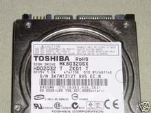 TOSHIBA MK8032GSX, HDD2D32 T ZK01 T, 80GB, SATA 250521340640