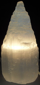 Selenite Lamp 6""