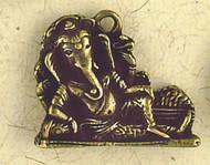 Brass Ganesh Pendant