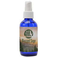 Wolf Spirit Blessed Sage Spray