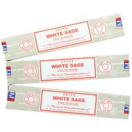 White Sage Incense by Nag Champa