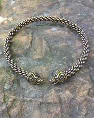Heavy Braid Celtic Bear Torc