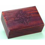 Celtic Cross Wooden Box
