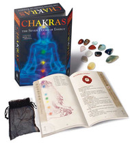 Chakras, Seven Doors of Energy (book & 7 crystals) by Lo Scarabeo