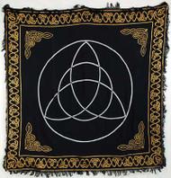 """Triquetra altar cloth 36"""" x 36"""""""