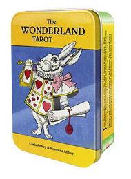 Wonderland Tarot tin by Abbey & Abbey
