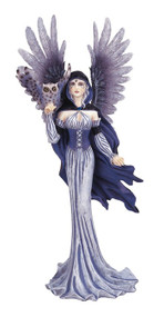 Fairy in Purple with Owl