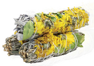Sunflower Sage Smudge 4""