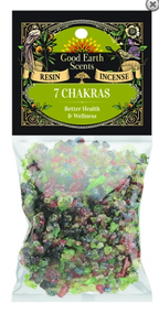 7 CHAKRAS RESIN INCENSE