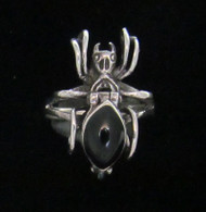 Sterling Silver Potion/Poison Spider Ring