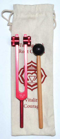 Root Chakra (red) tuning fork